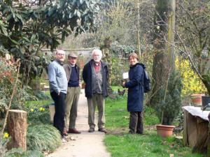 Alcuni ricercatori fondatori di Rebèl, Pescarolo 2008 (Massimo Pirovano)